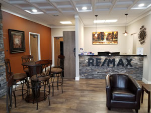 RE/MAX Real Estate Professionals office interior